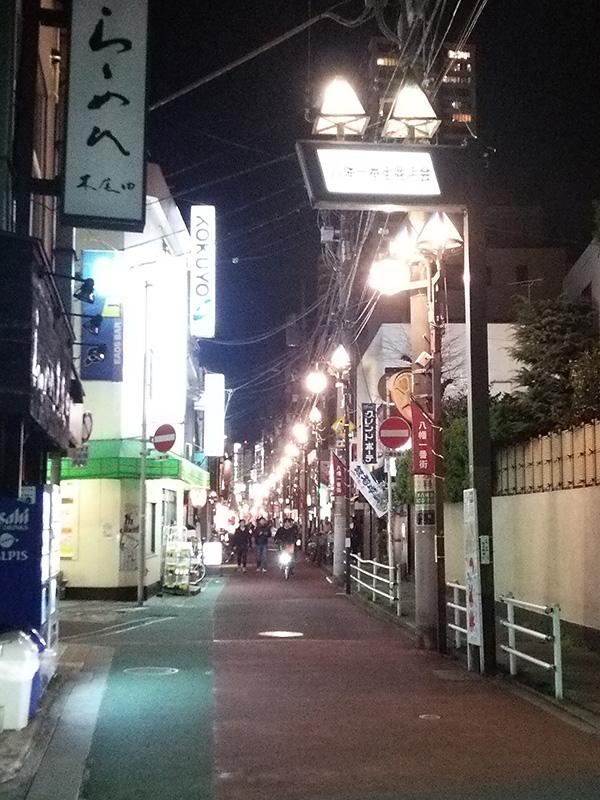 八幡一番街商店会 LED化工事完了