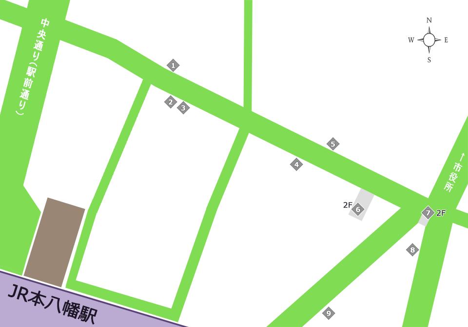 商店街その他サービスマップ