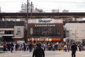 本八幡駅前北口ロータリー