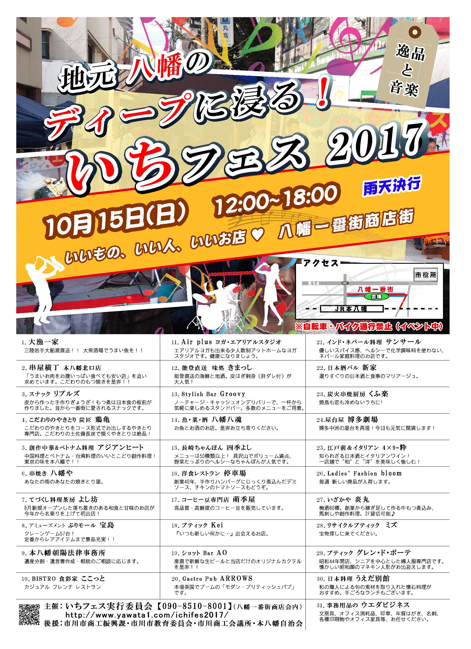 いちフェスマップ表
