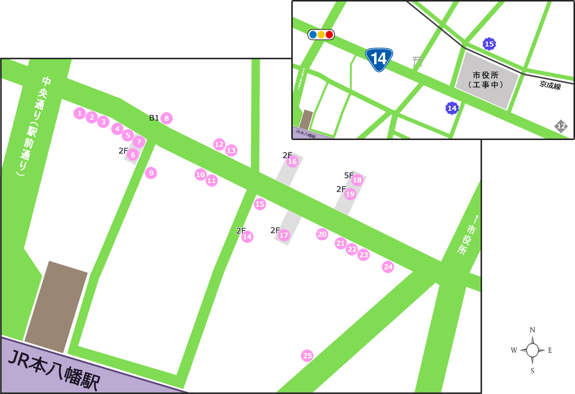 呑処マップ