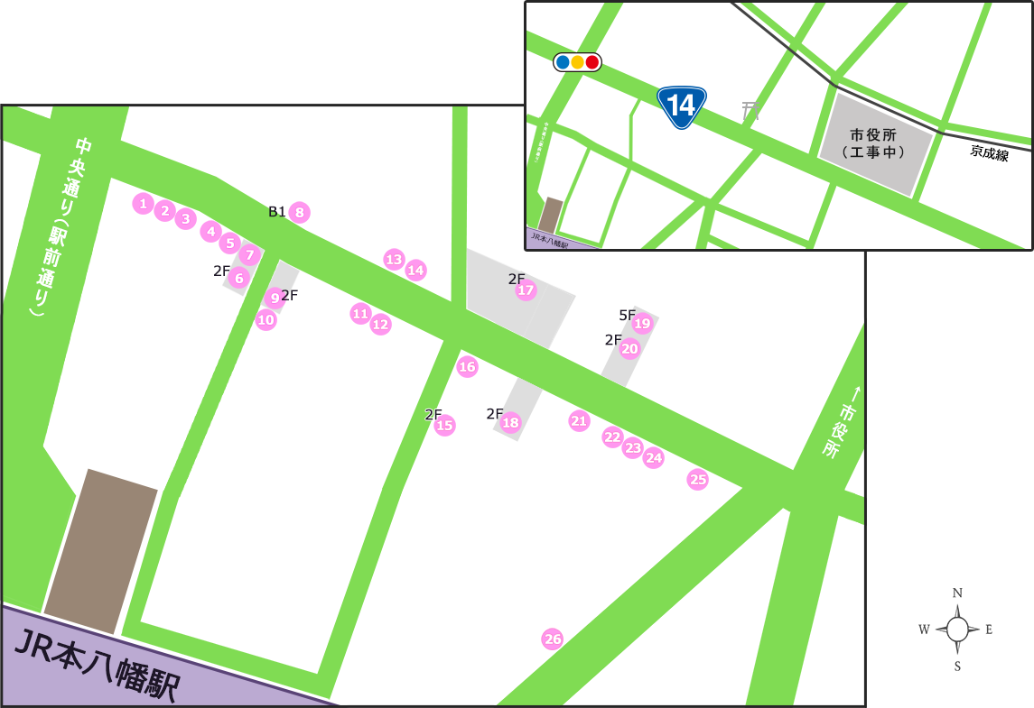 呑み処マップ